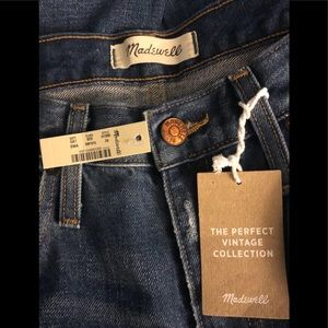 NWT Madewell jeans